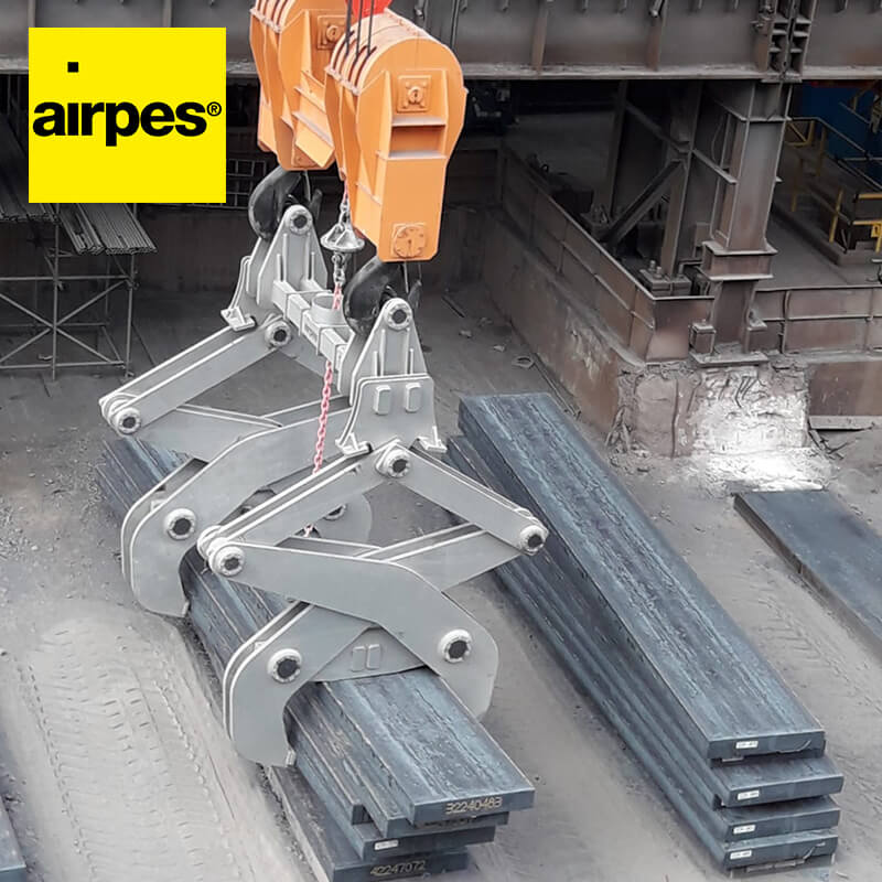 Airpes | Scissor lifting tong on demand project