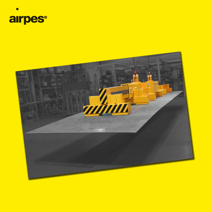 Permanent-Electro Magnetic System ATEM-8   Airpes Lifting Equipment