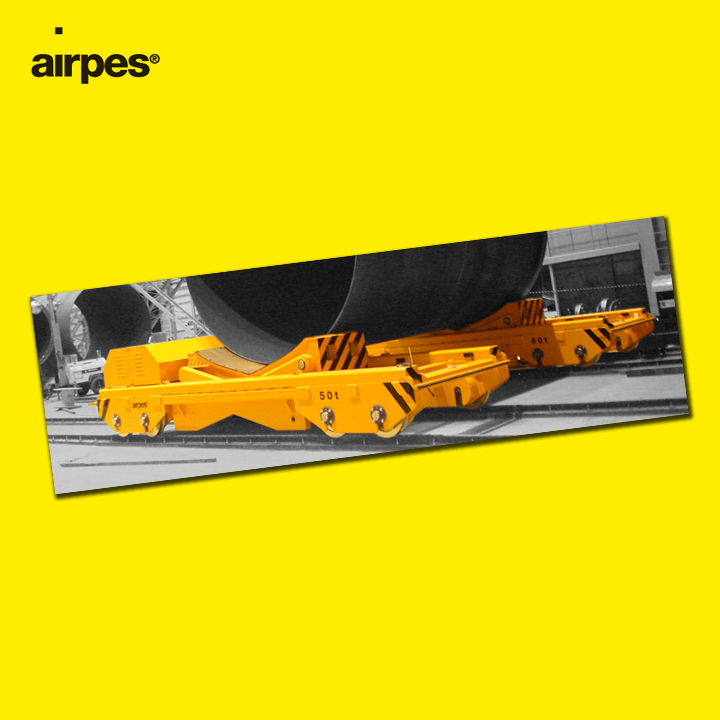 Rail transfer car | News | Airpes Lifting Equipment