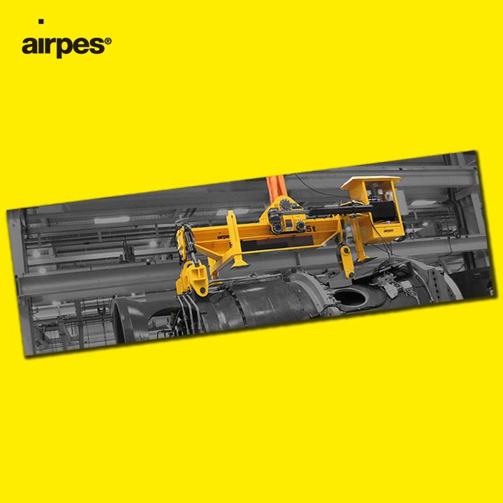 Drivetrain hydraulic lifting beam - Airpes