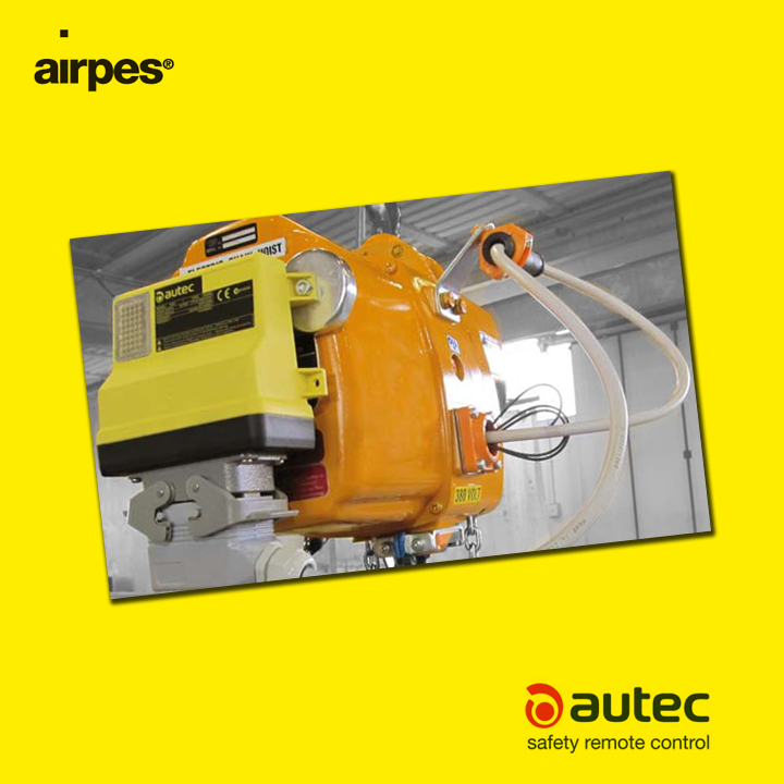 Autec presents the Compact Hoist Receiver | Compact Hoist Receiver