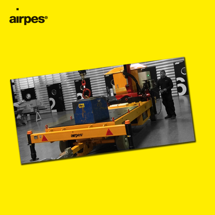 design of a transport & lifting system with ATEX protection | Airpes Yacths | News | Airpes Lifting Equipment