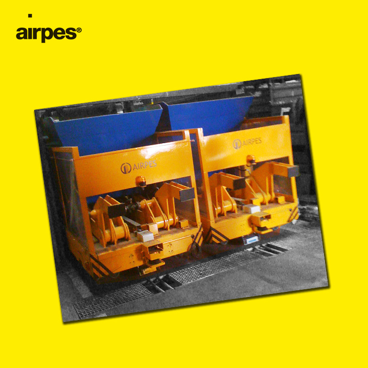 HYDRAULIC CPS GUIDED TRUCKS, SWL 2000 KGS | Airpes