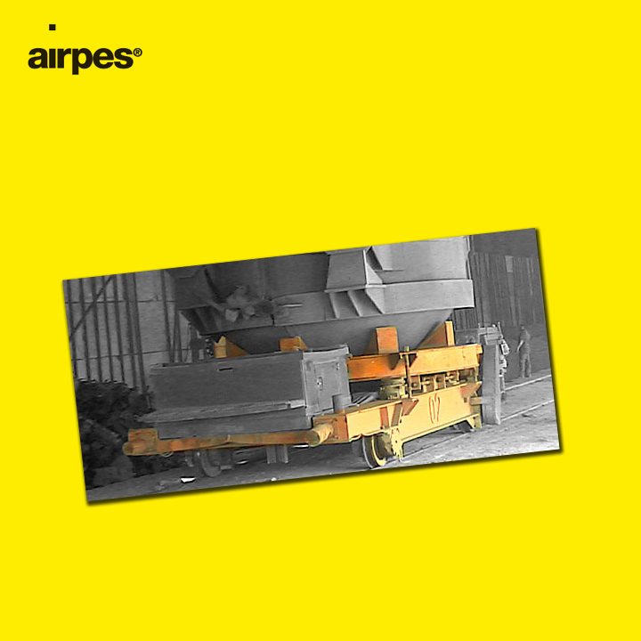 Special weighing system for a cuban scrap truck | Airpes