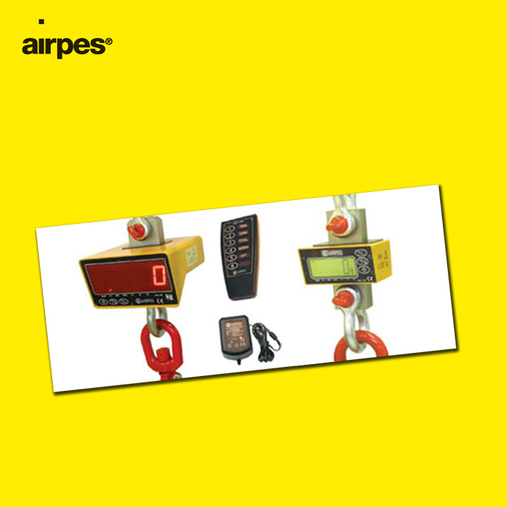 Special prices in electronic crane scales | Airpes