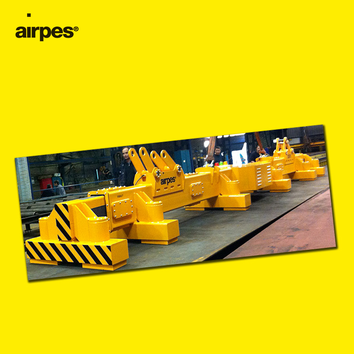 Permanent electromagnet | Handling | Airpes