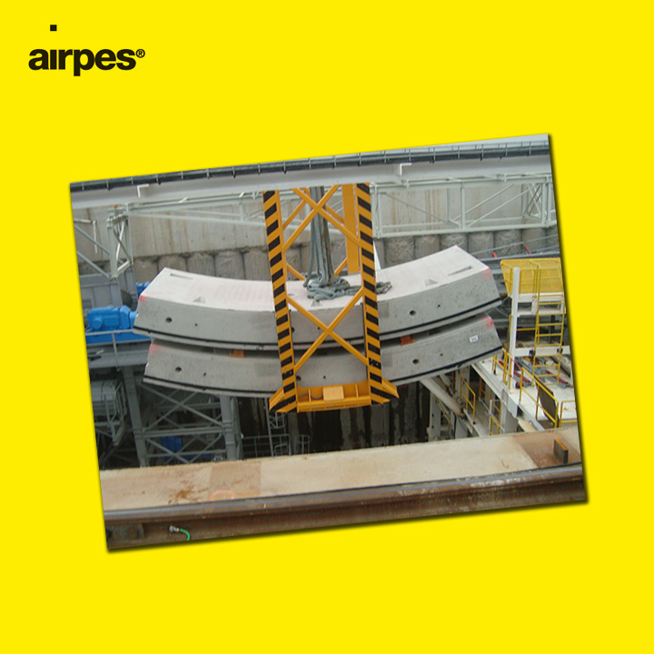 Airpes Tunnel Concrete Segment Tong
