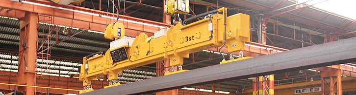 Permanent electromagnet   Handling equipment   Airpes