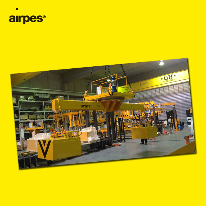 The best prices in lifting beams 01 | Handling | Airpes