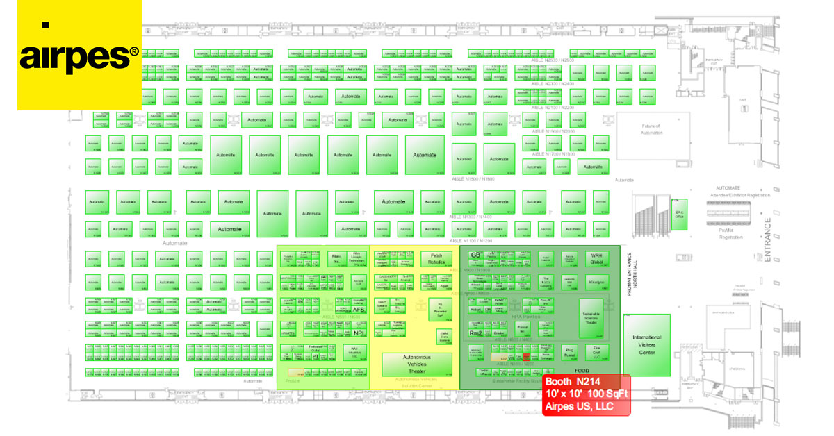 ProMat 2017 Handling Expo 01 | Airpes