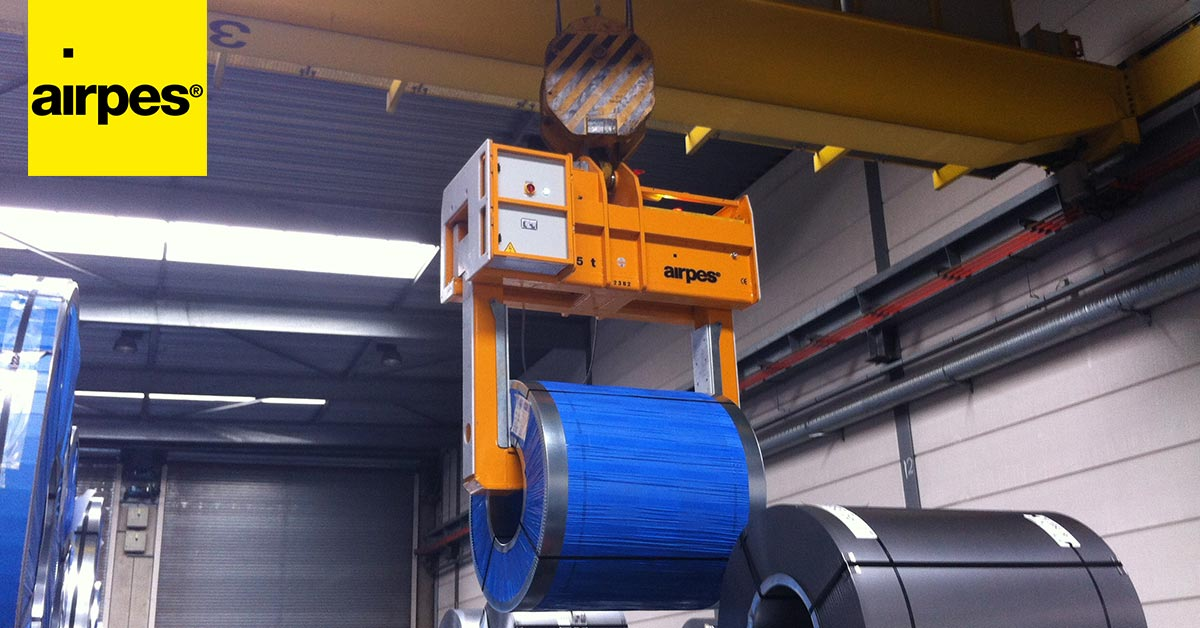 Types of coil handling devices