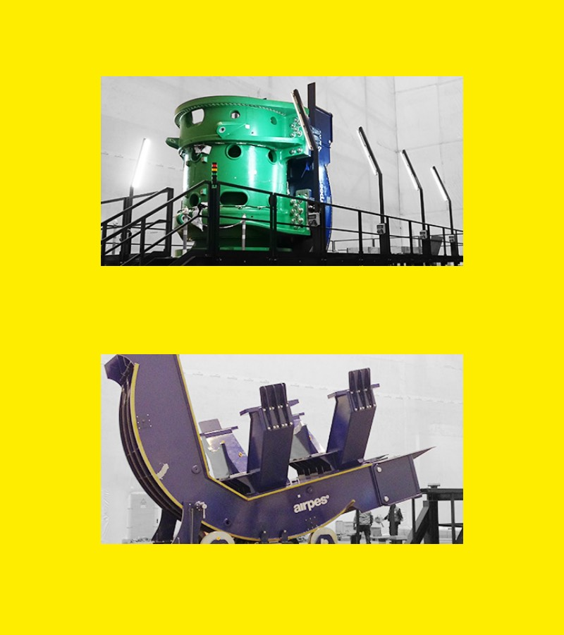 Load Rotator Solutions | Heavy Lifting Equipment | Airpes