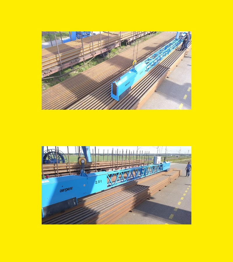 Rail Lifting Beam Solutions | Heavy Lifting Equipment | Airpes