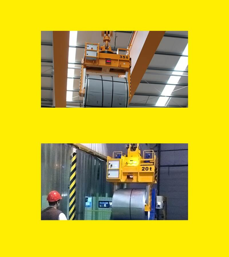 Paper Coil Tong - Handling Lifting Equipment - Airpes