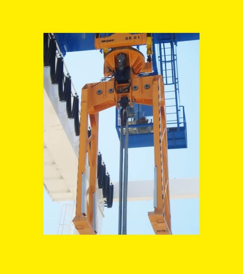 Tunnel Concrete Segment Tong - Handling Lifting Equipment - Airpes