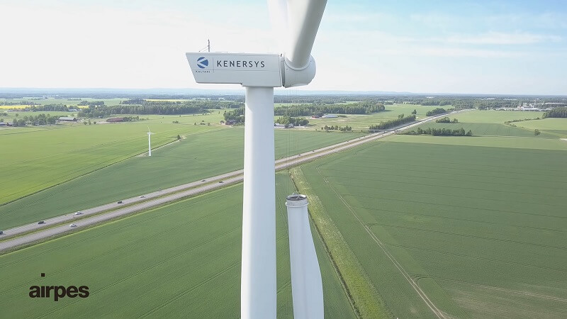 craneless assembly of wind turbine