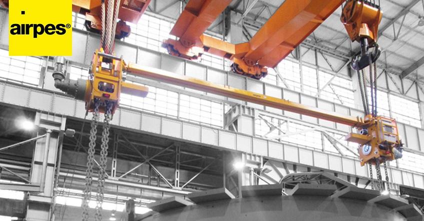 double rail bridge crane design