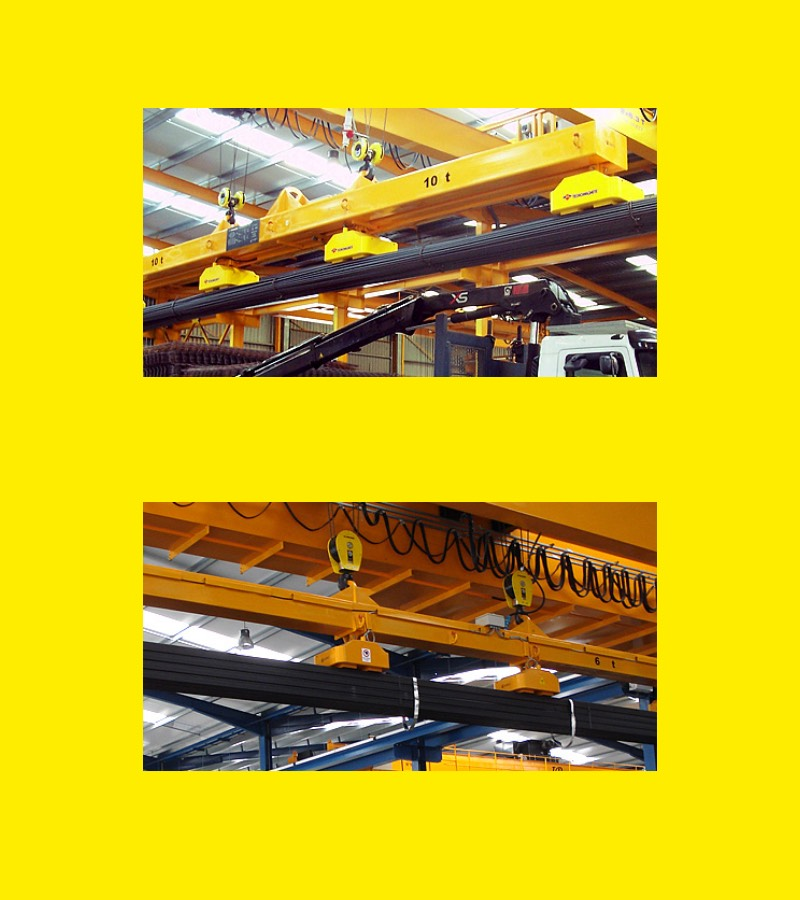 Lifting Electro Magnet Solutions | Heavy Lifting Equipment | Airpes