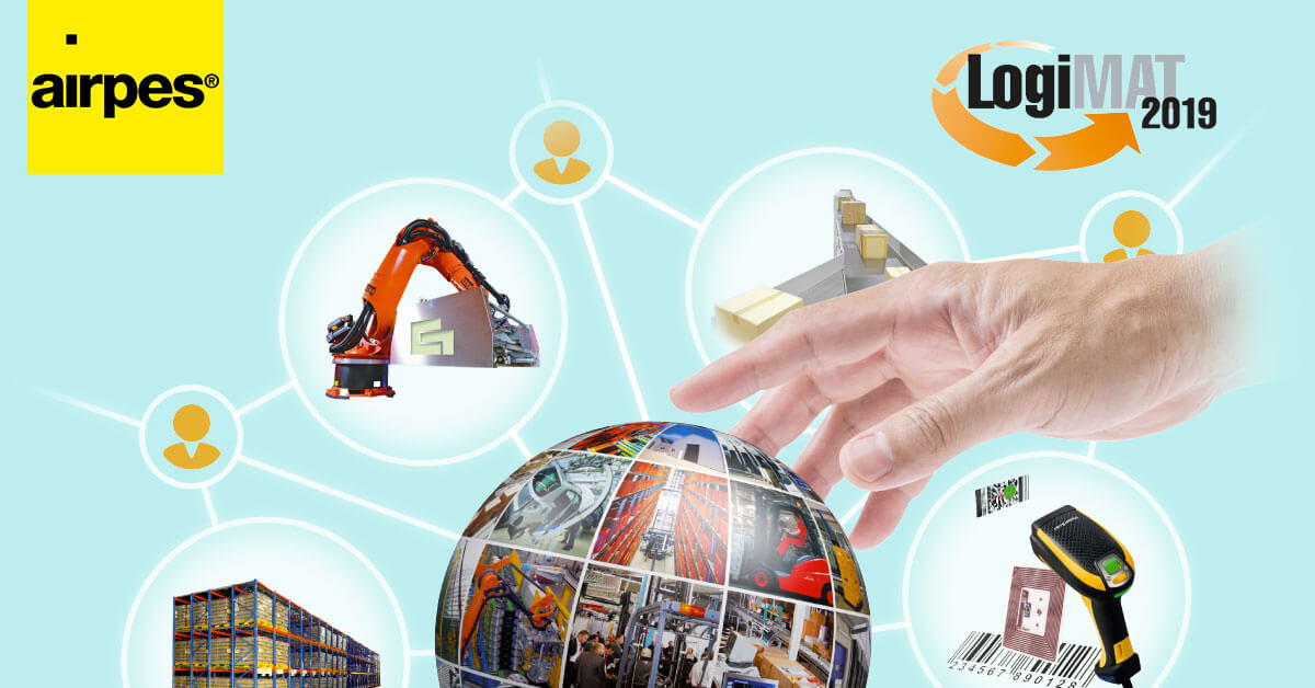 logimat2019 logo - airpes will be attending