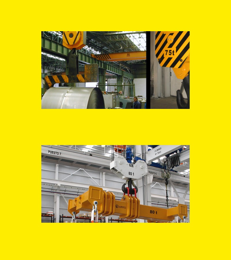 Solutions | Heavy Lifting Equipment | Airpes