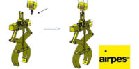 scissor lifting tong 102 tons | Airpes | Airpes