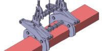 scissor lifting tong design | Airpes