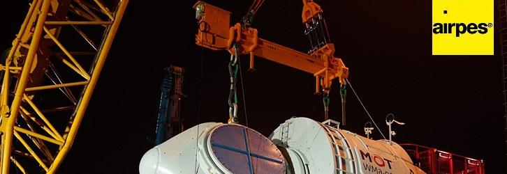 spreader beam installing generator | Airpes