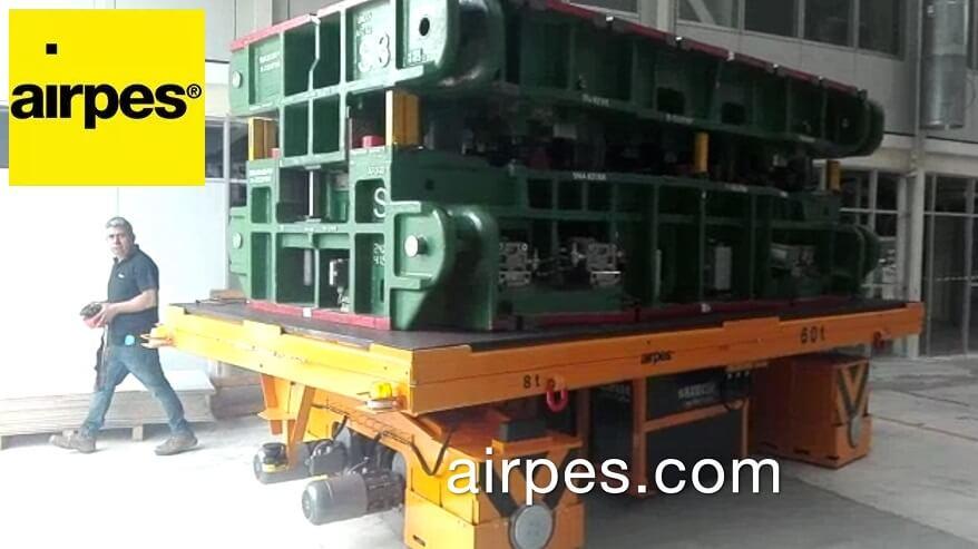 transfer cart 60 tons capacity