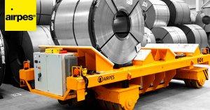 Transfer Cart on Rails - Handling Lifting Equipment - Airpes