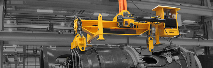 Drivetrain hydraulic lifting beam-2