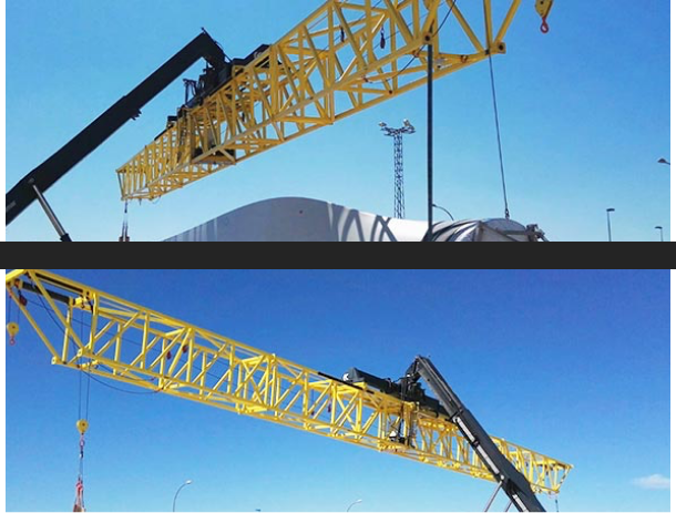 Lifting equipment for wind turbine blades