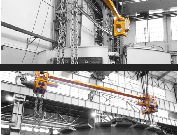 Rotator Lifting beams