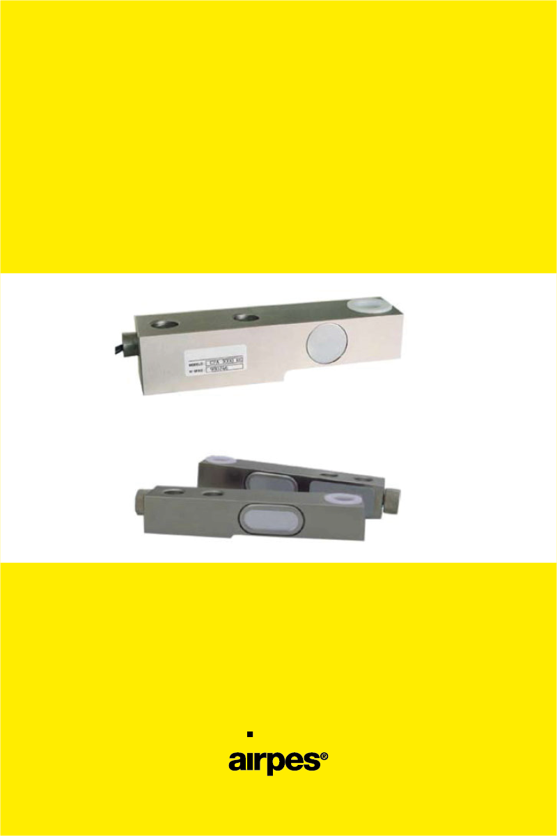 FLEXION LOAD CELLS CF AND CFAFLEXION LOAD CELLS CF AND CFA - 00 - Airpes