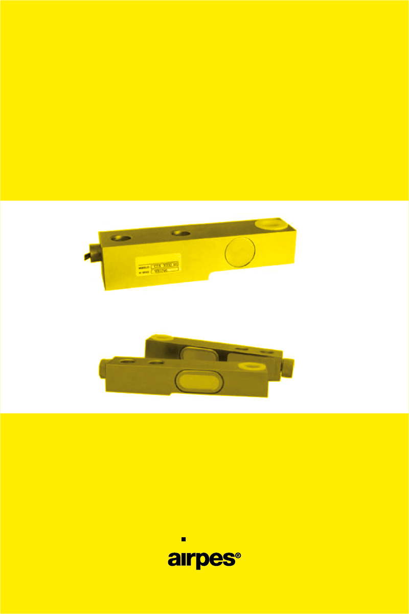 FLEXION LOAD CELLS CF AND CFAFLEXION LOAD CELLS CF AND CFA - Product - Airpes