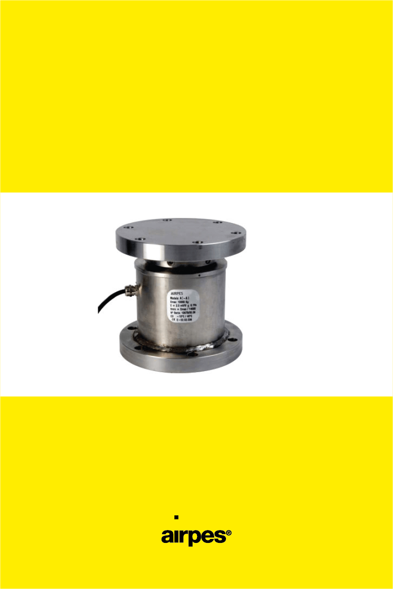 Load cell compression ac a