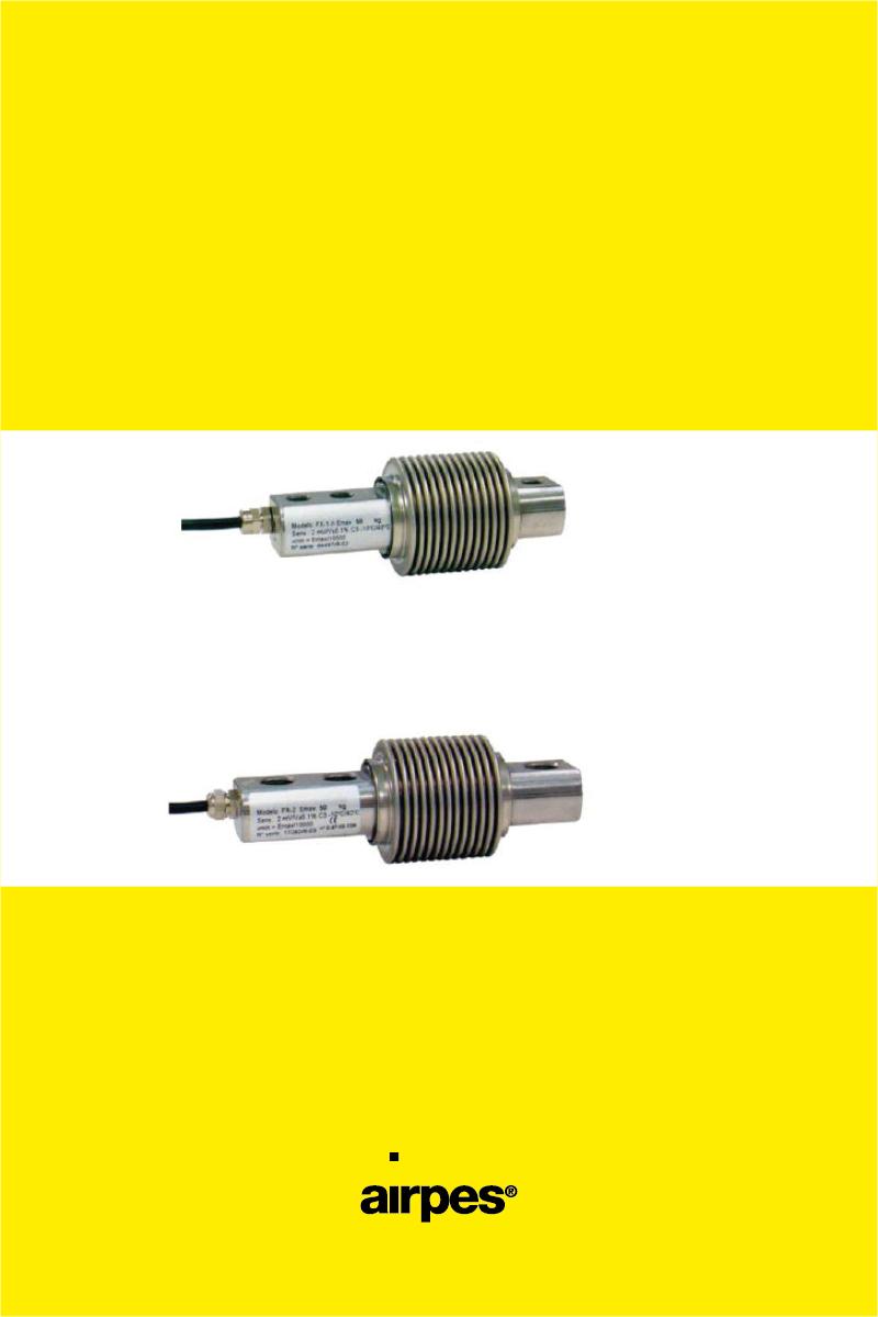 FLEXION LOAD CELLS FX1 – FX2 - 00 - Airpes