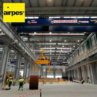 On-demand coil tong Konecranes - Lifting equipment supplier - Airpes 03