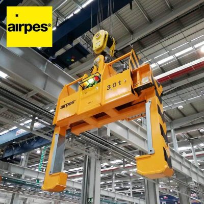 On-demand coil tong Konecranes - Lifting equipment supplier - Airpes 01