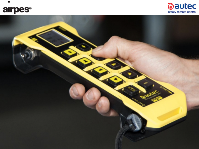 Radiocontrol - The best lifting equipment supplier - Airpes