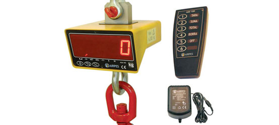 Weighing equipment - The best lifting equipment supplier - Airpes