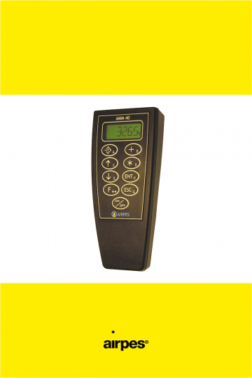 BI-SCALE RADIO RECEIVER AMM-40 - Monitoring and Overload Protection Systems - Airpes 00
