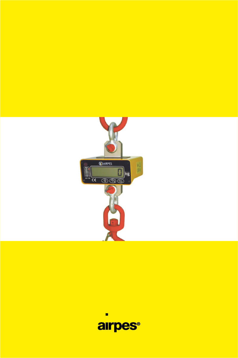 Electronic Crane Scale AGP-100 - Weighing Solutions - Airpes - 00