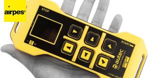 Wireless control devices for industrial machinery