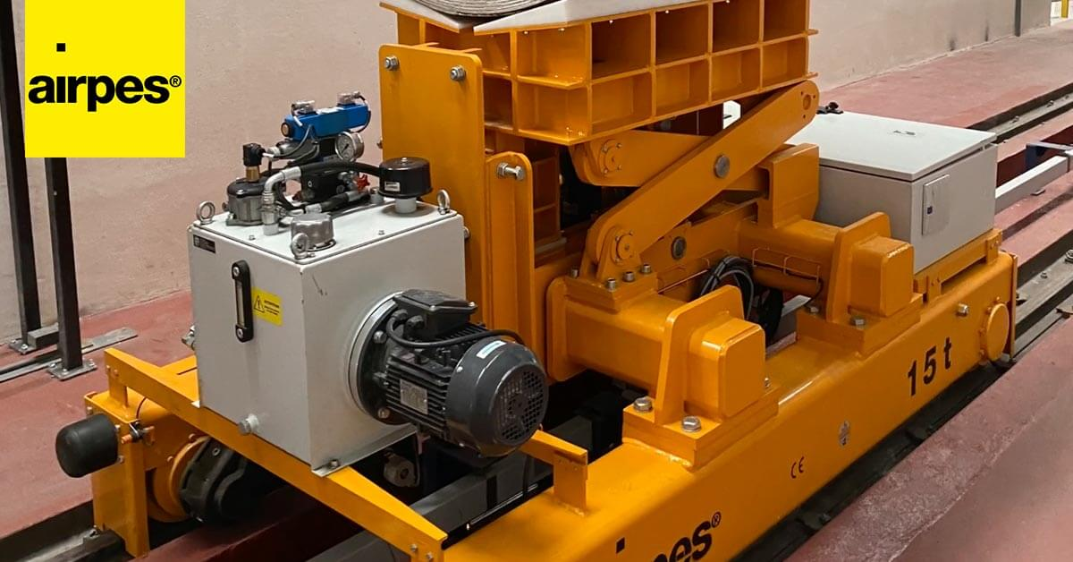 Automatic transfer coil line for ALUMASA - Handling Equipment - Airpes